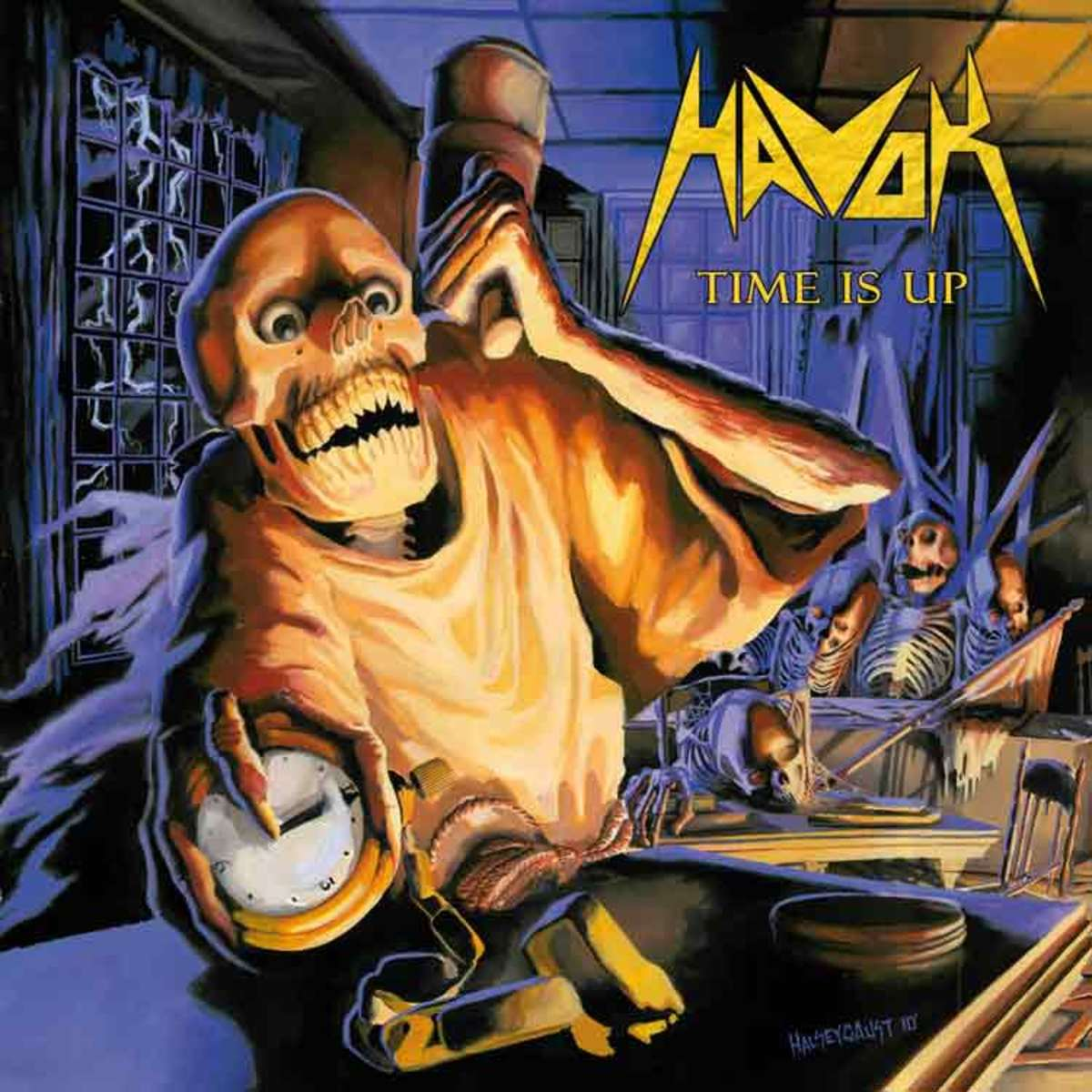 A Review of the Album Time Is up by Denver Colorado Thrash Metal Band Havok