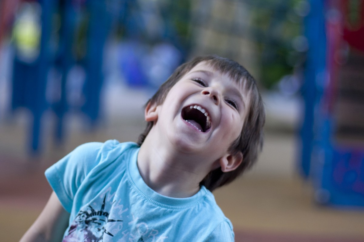Telling a joke to a child and watching his face light up with laughter is one of the best feelings in the world!