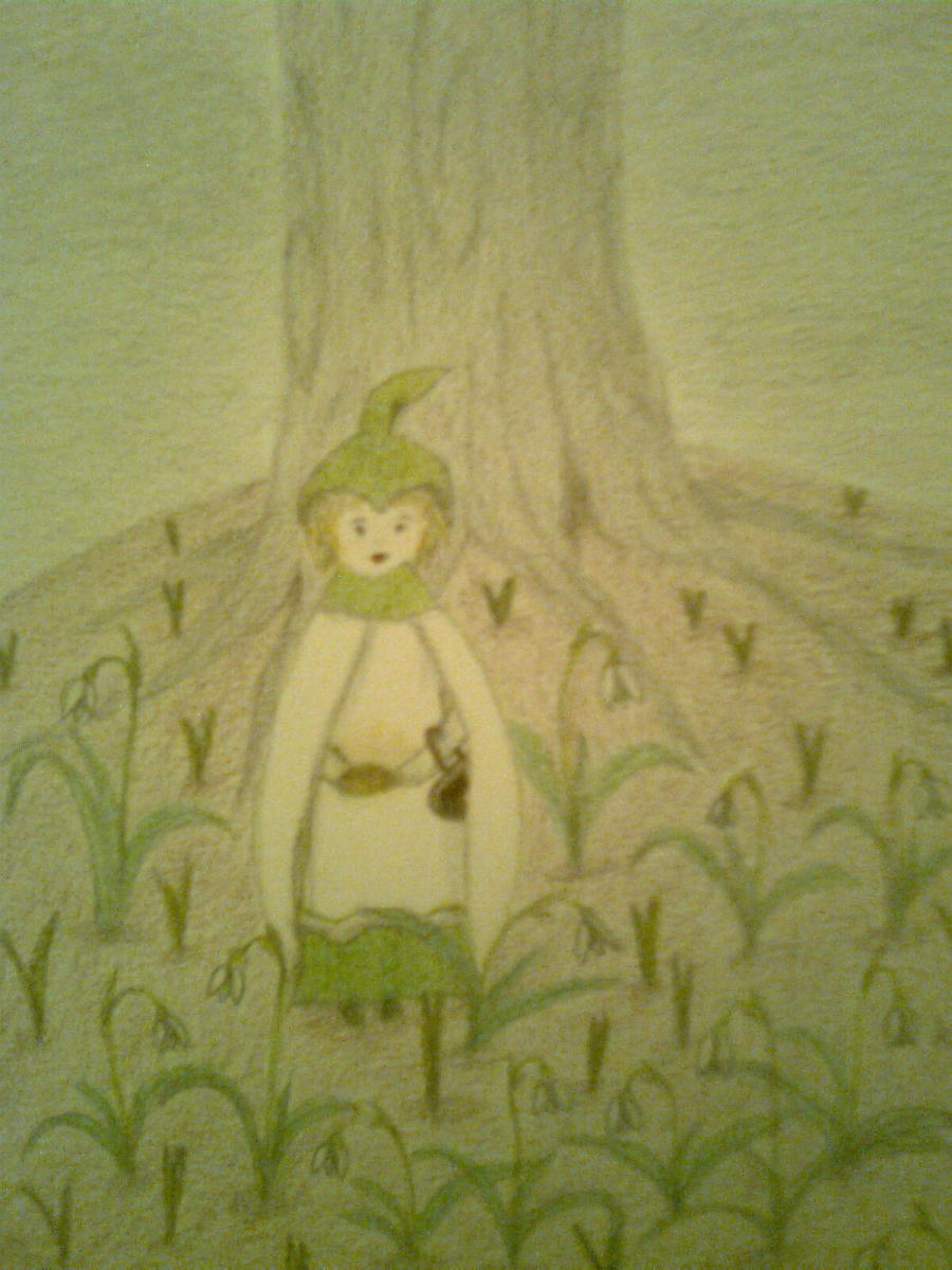 Rabbit and the Snowdrop Lady