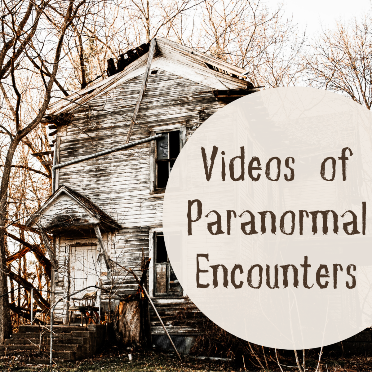 Explore five videos that show possible encounters with ghosts.