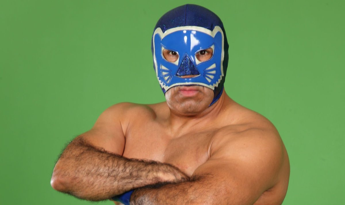 Lucha Tributes: Blue Panther