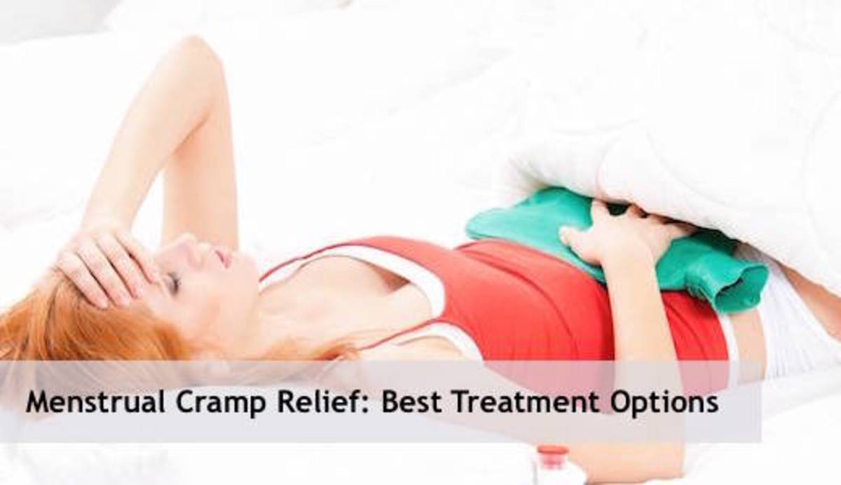 Menstrual Cramp Relief: Best Natural Treatment Options