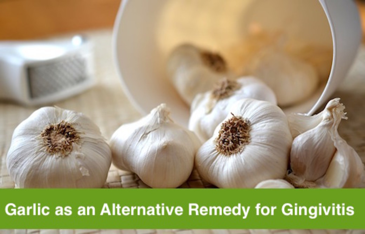 Garlic also has potent antibacterial properties that are useful as gingivitis cure.