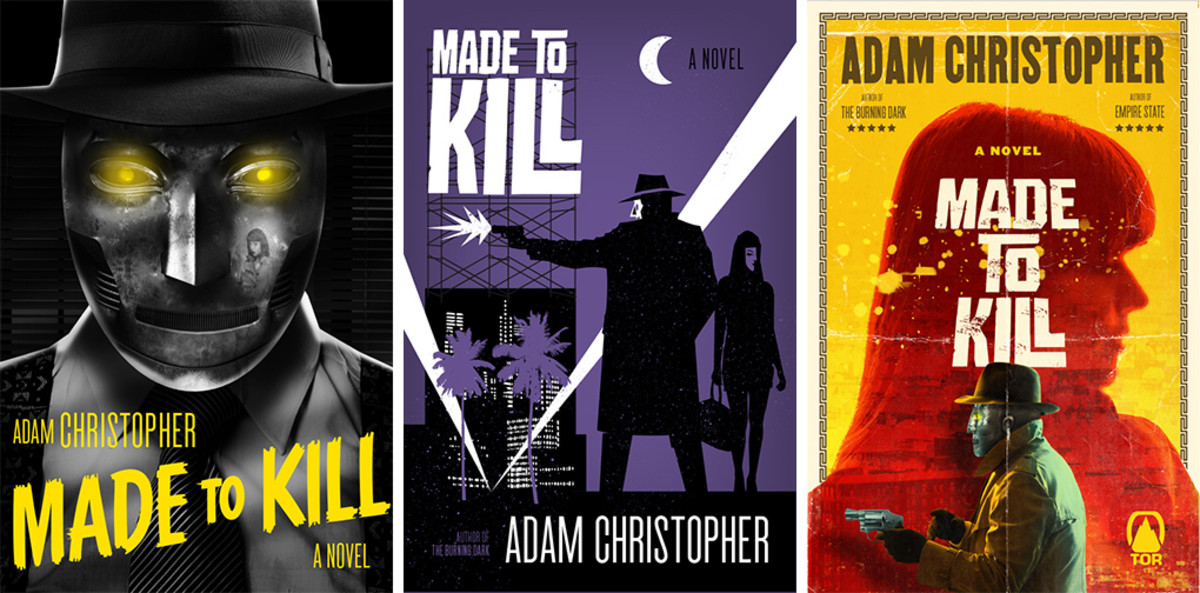 Alternate covers of Made to Kill