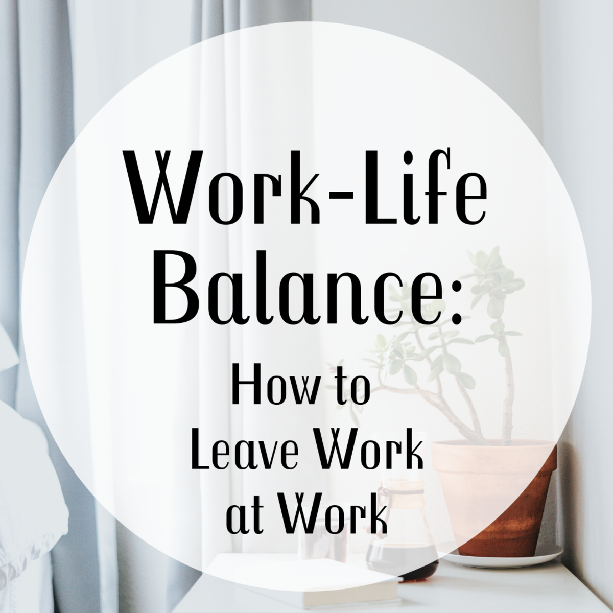 Get advice on leaving work stress at the office when you go home for the day.