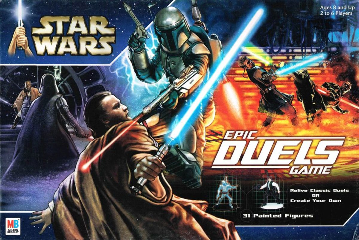 Star Wars Epic Duels Review