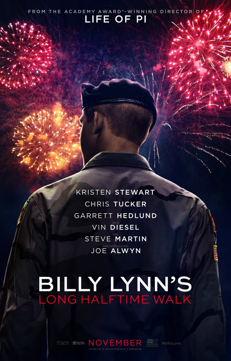Billy Lynn's Long Halftime Walk: Movie Review
