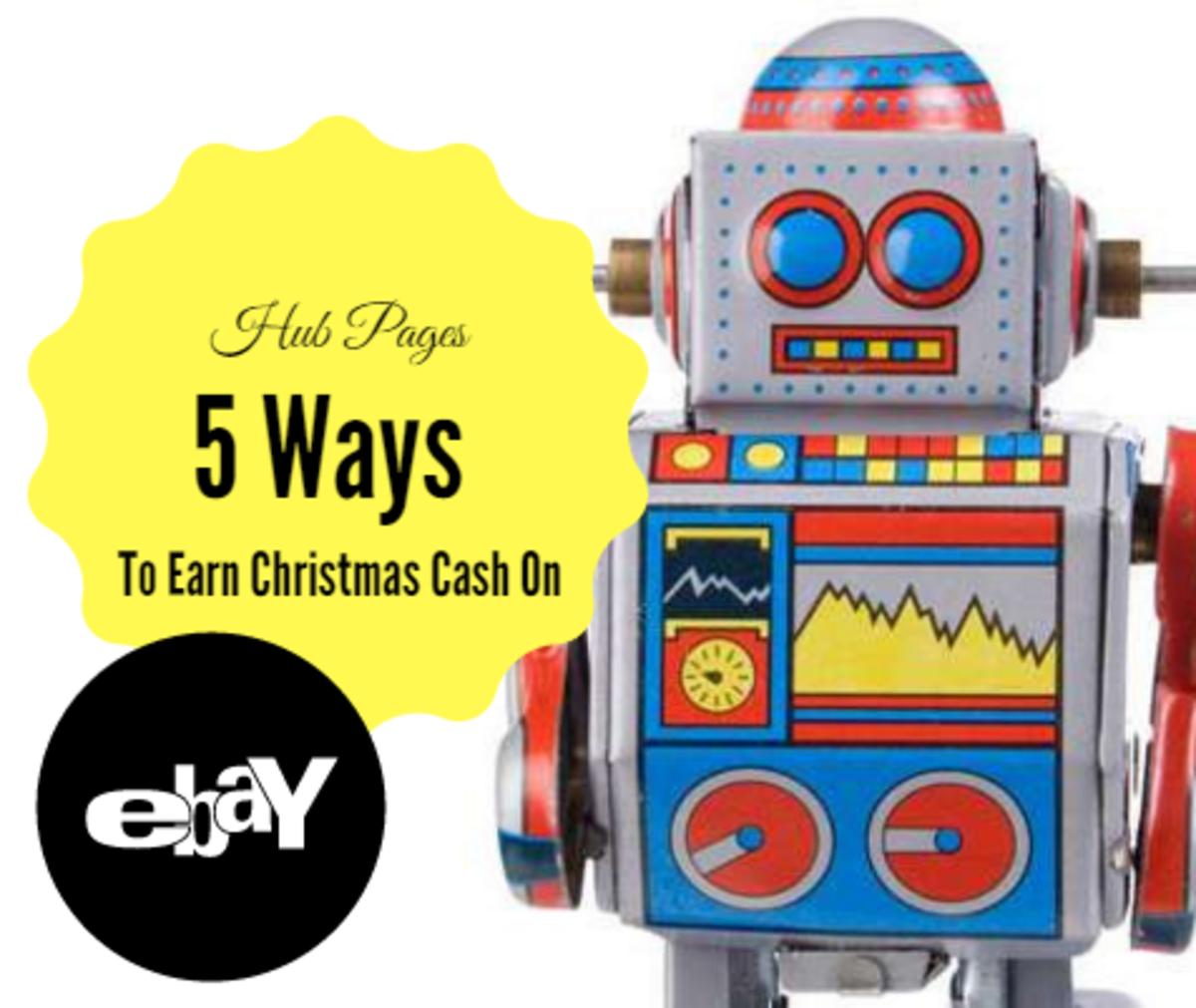 5 Ways to Earn Christmas Cash on eBay