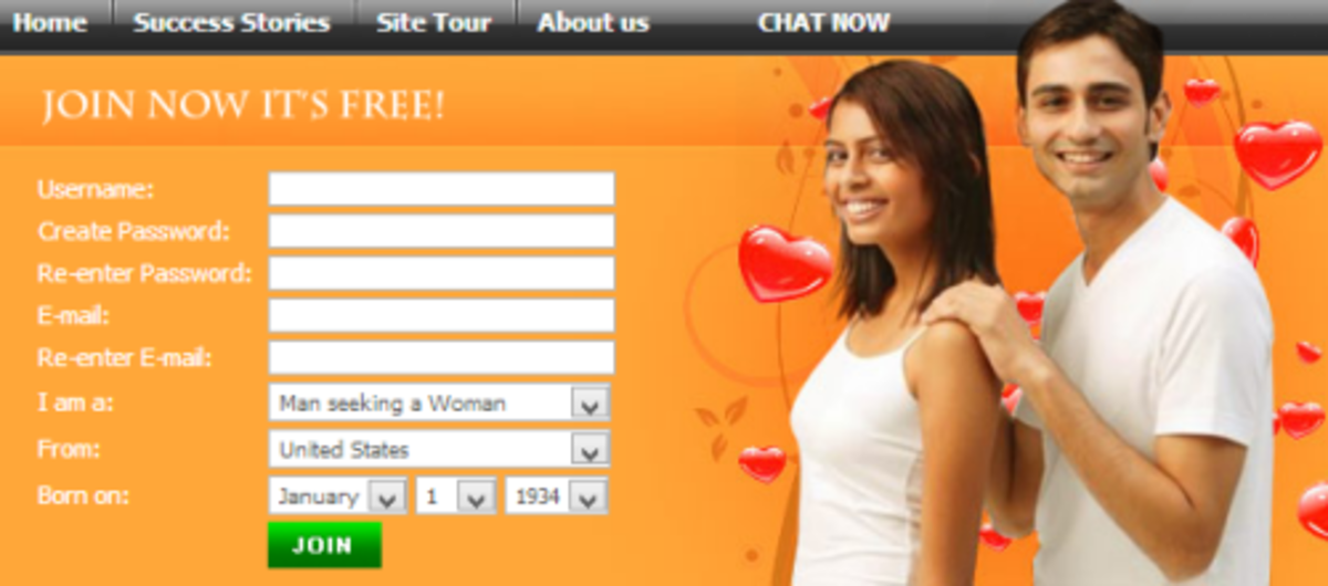 Dating site chatting — 8