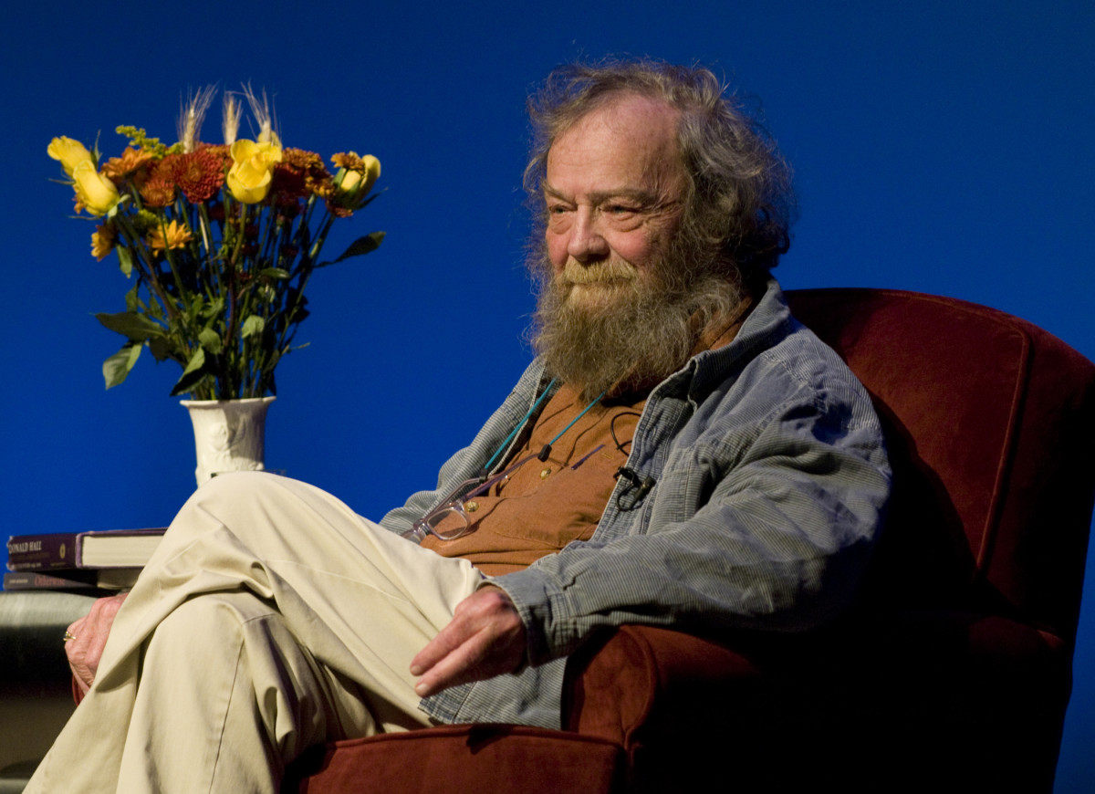 Donald Hall on the Rôle of Ambition for Poets