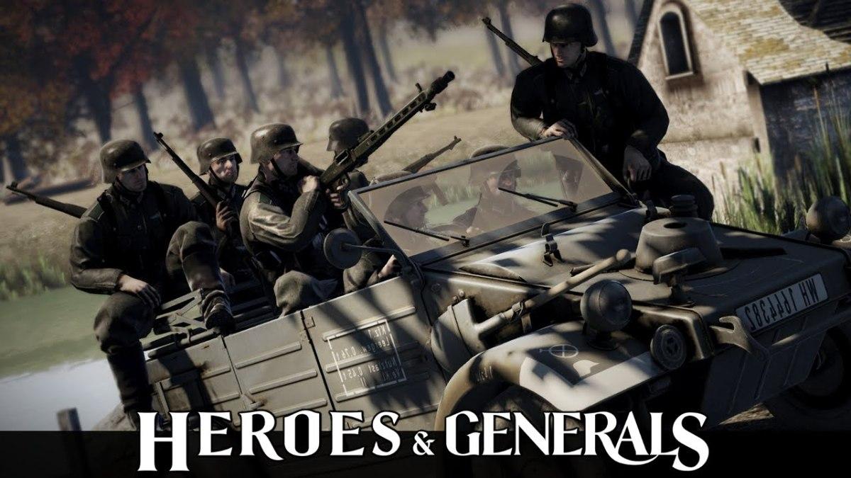 Heroes & Generals Beginner's Guide