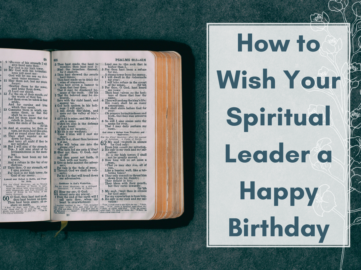 Happy Birthday Wishes for Pastors, Priests, or Ministers