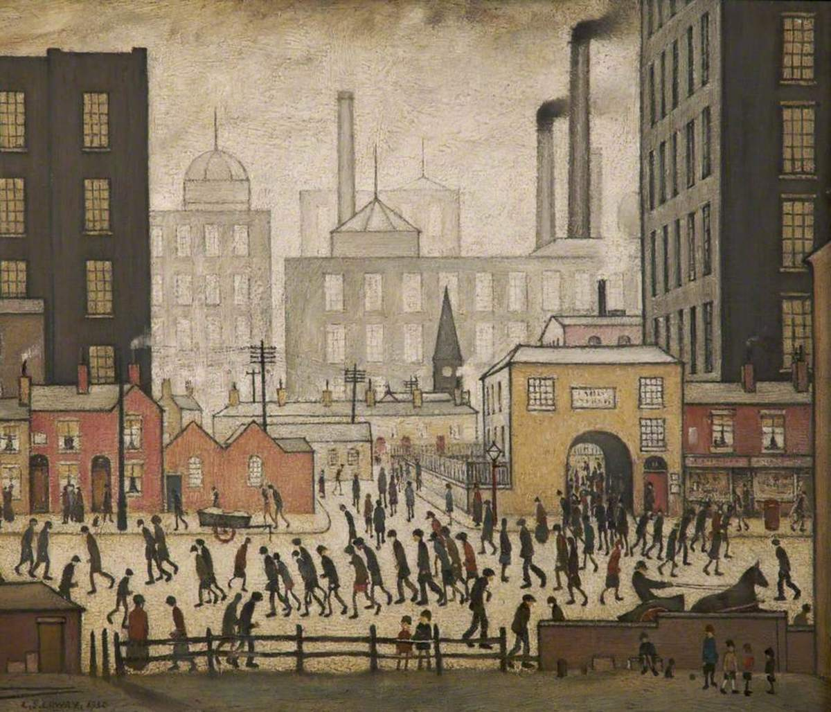 Painter 'Laurence Stephen Lowry'