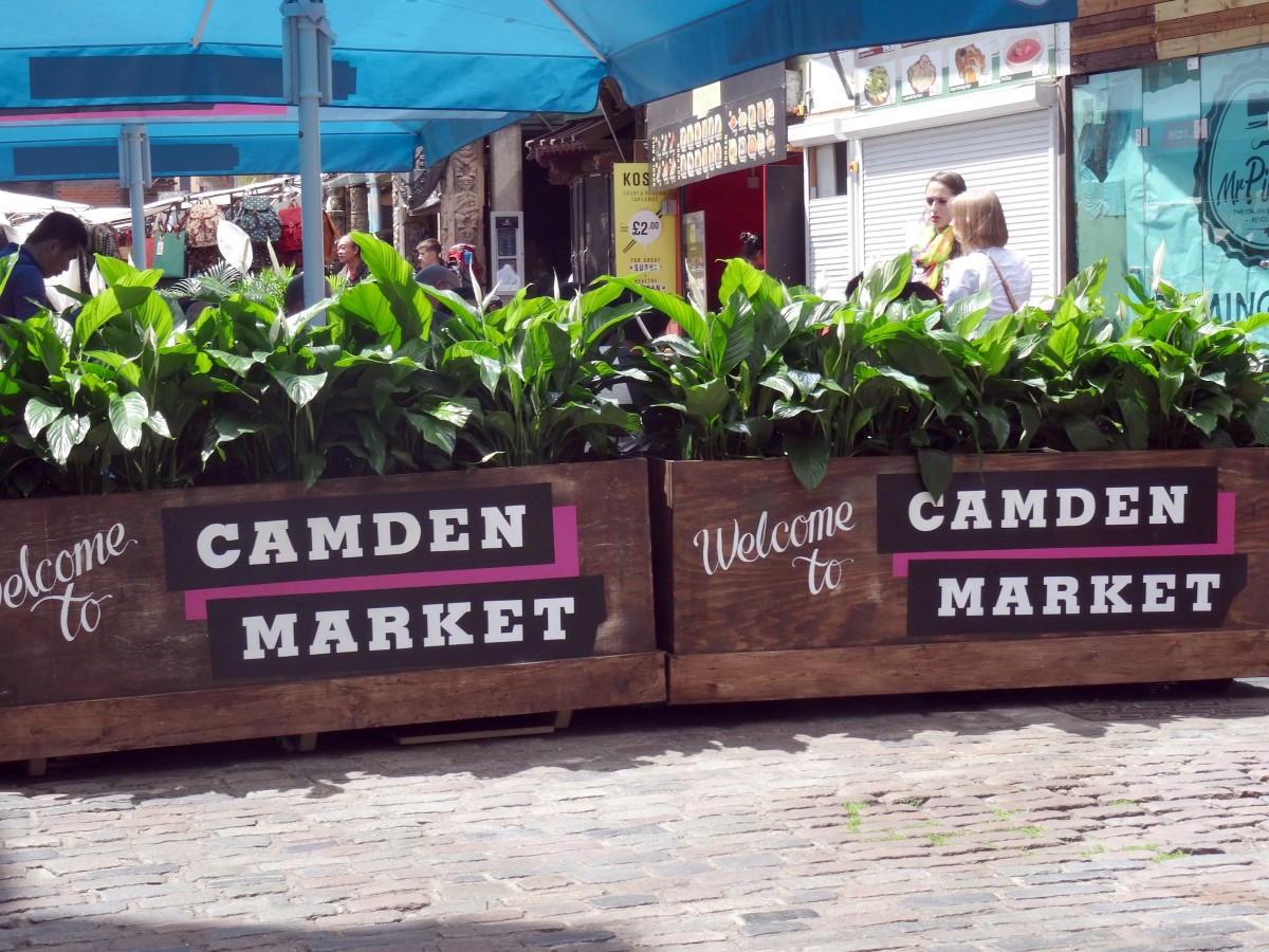 If you're a shopholic, if you can go to only one shopping mecca in the world, then it must be Camden Market