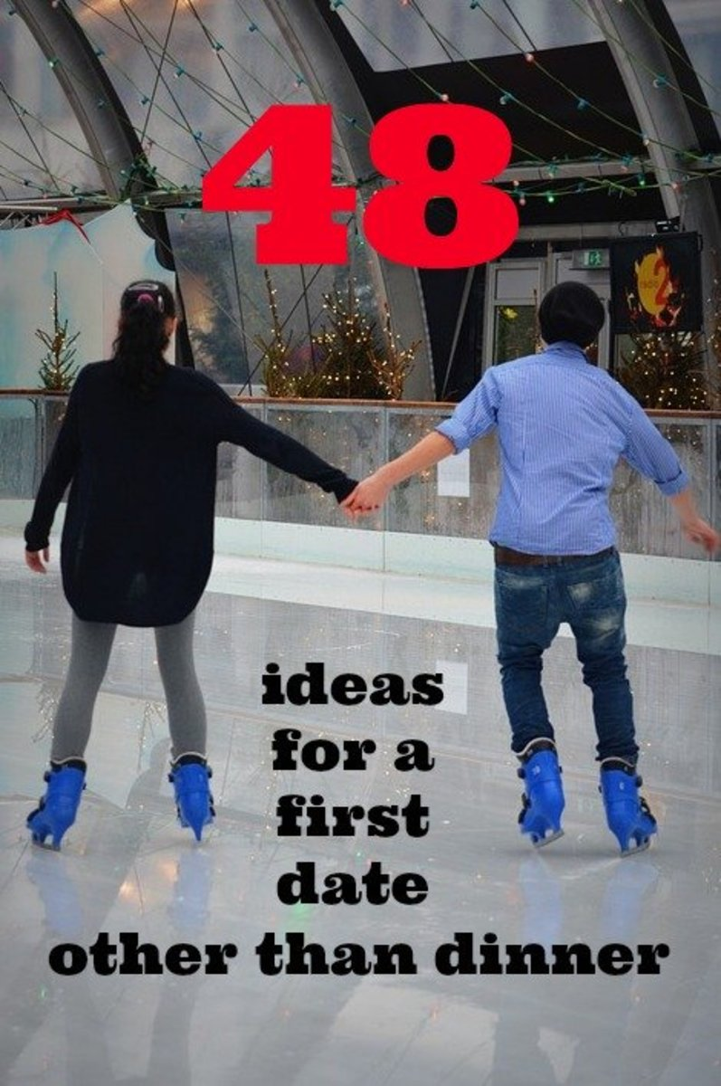 Going ice skating or roller skating on a first date can help you discern if you and your companion are a match.