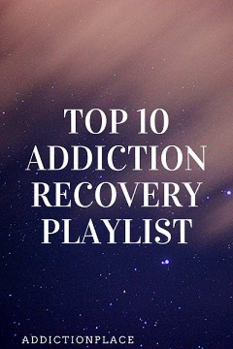 Top 10 Addiction Recovery Playlist