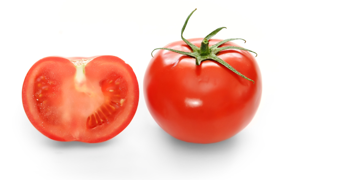 "Tomatoes contain lots of folic acid and alpha-lipoic acid, both of which are good for fighting against the ""special occasion blahs""."
