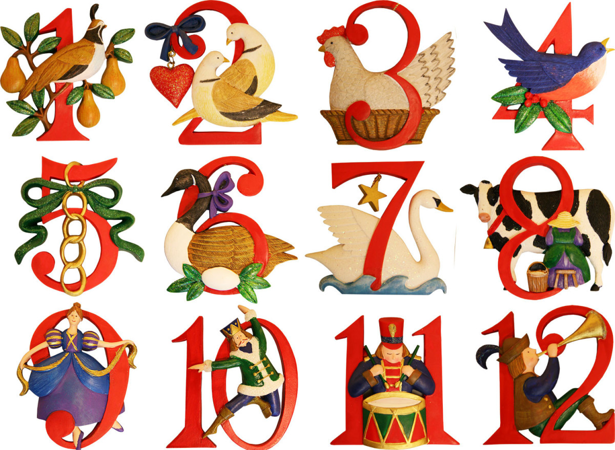 The twelve days of Christmas span from December 25th to January 5th.