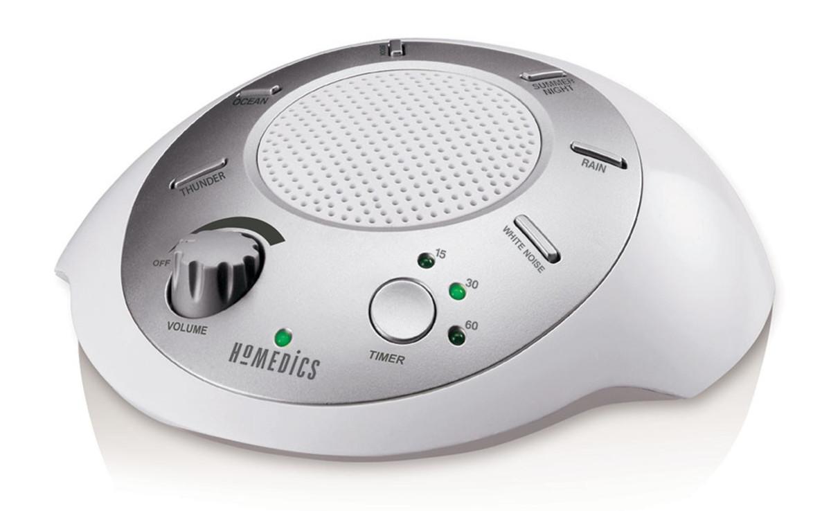 The Best Insomnia Gadget: a White-Noise Machine | HealDove