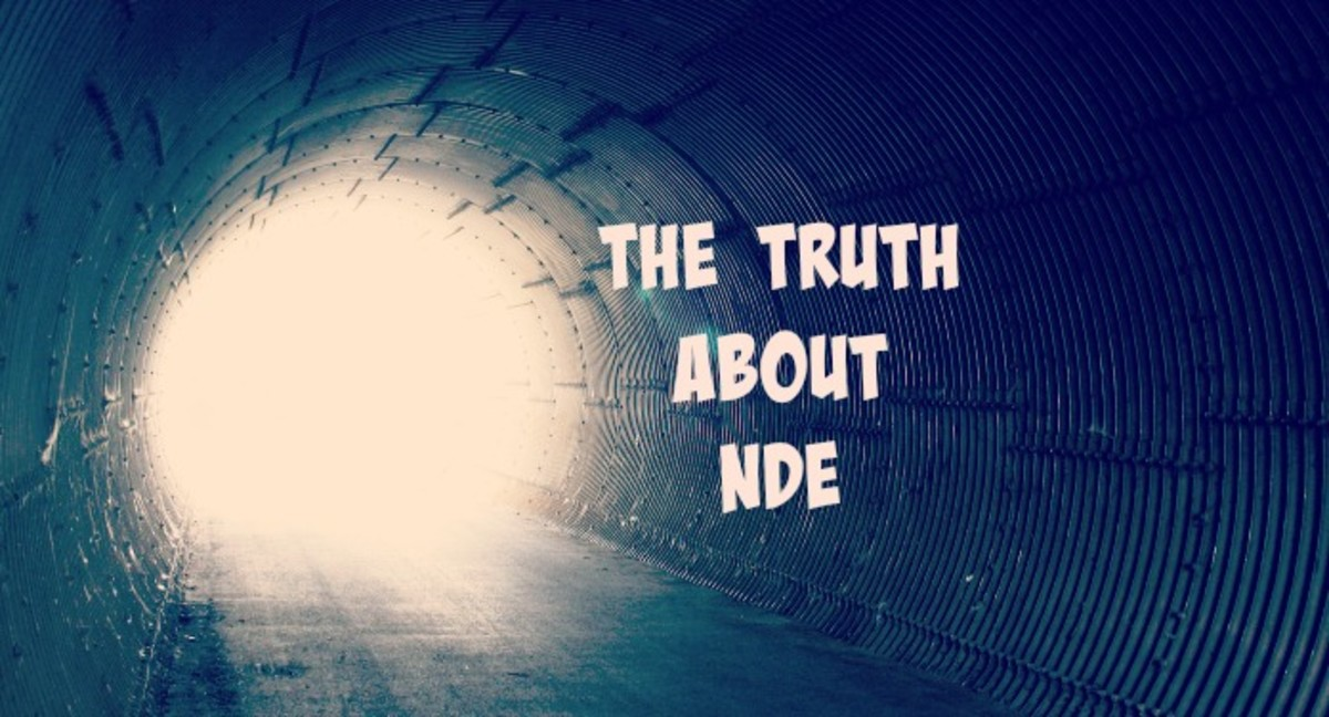 Science can explain the near death experience and why people see a tunnel of light..