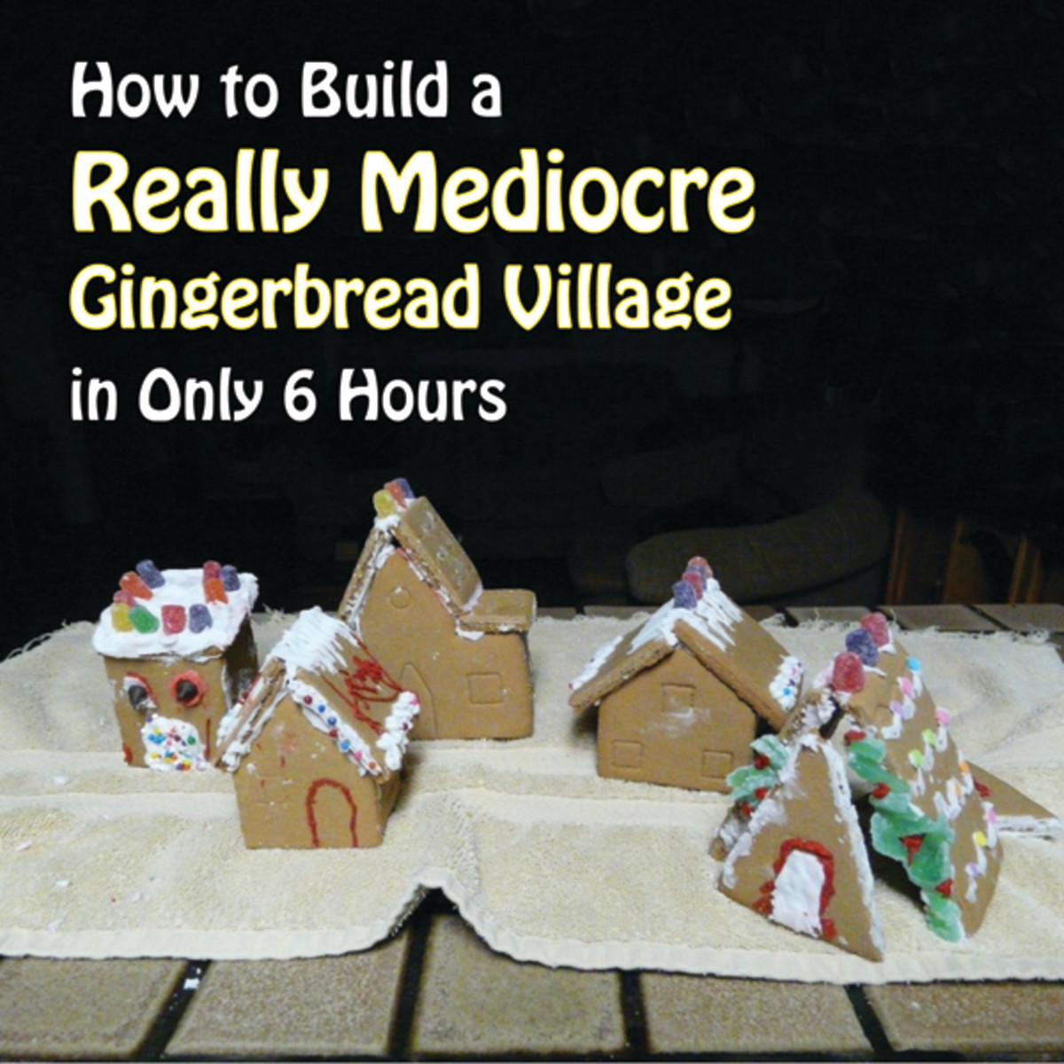 How to Keep Your Gingerbread House From Falling Apart