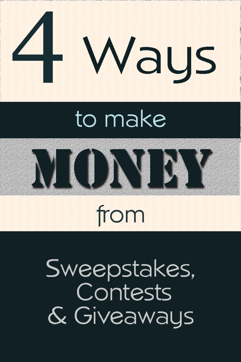 Sweepstakes giveaways money
