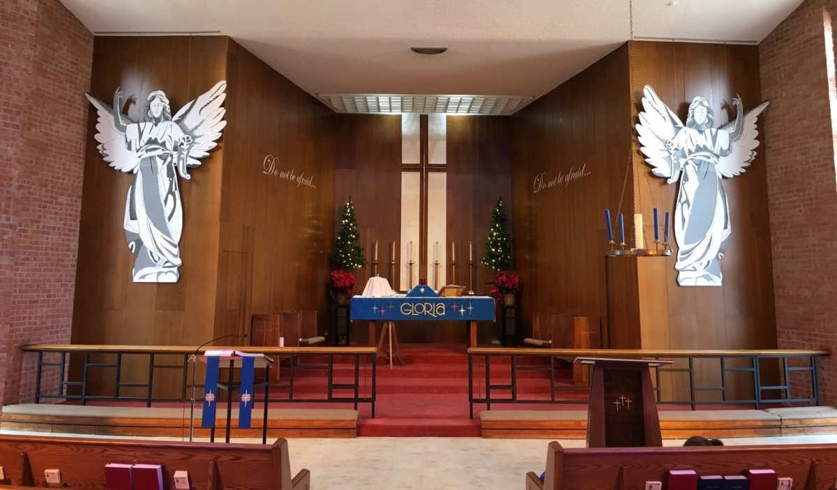 Decorating the Church and Altar for Advent and Christmas: Making an Angel
