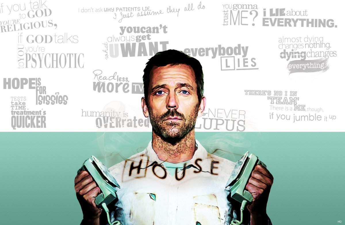dr house analysis