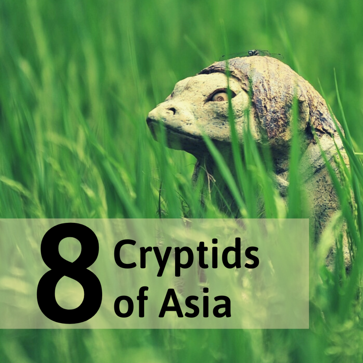Discover some legendary creatures of Asia, such as the Kappa that this sculpture is based on.