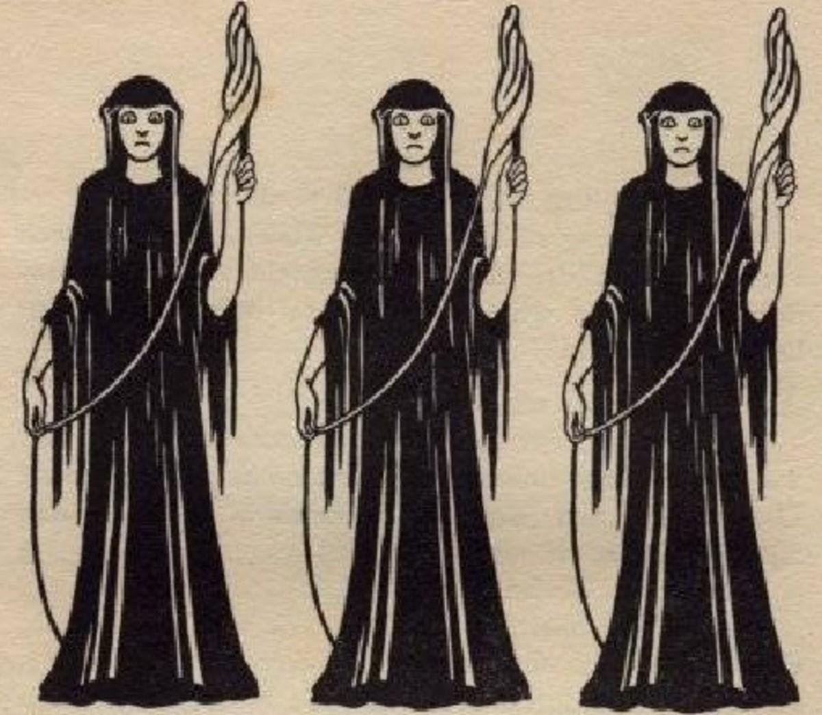 illustration for the Edda