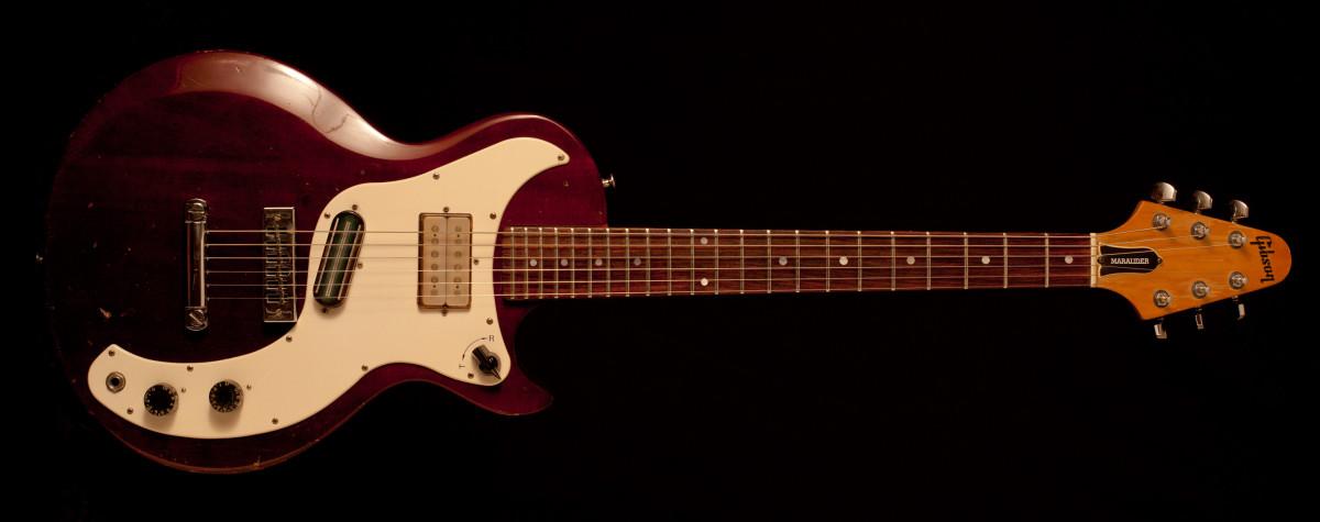 Gibson Marauder Wine Red late 70's