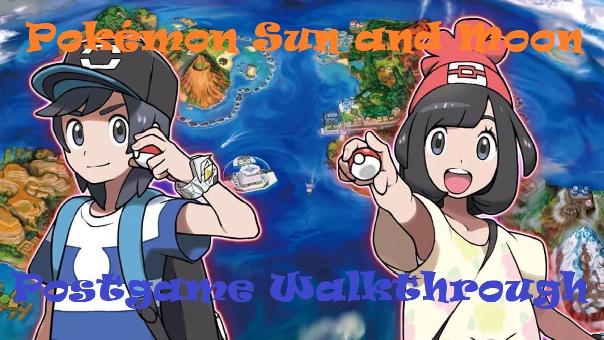 Pokémon Sun and Moon Postgame Walkthrough