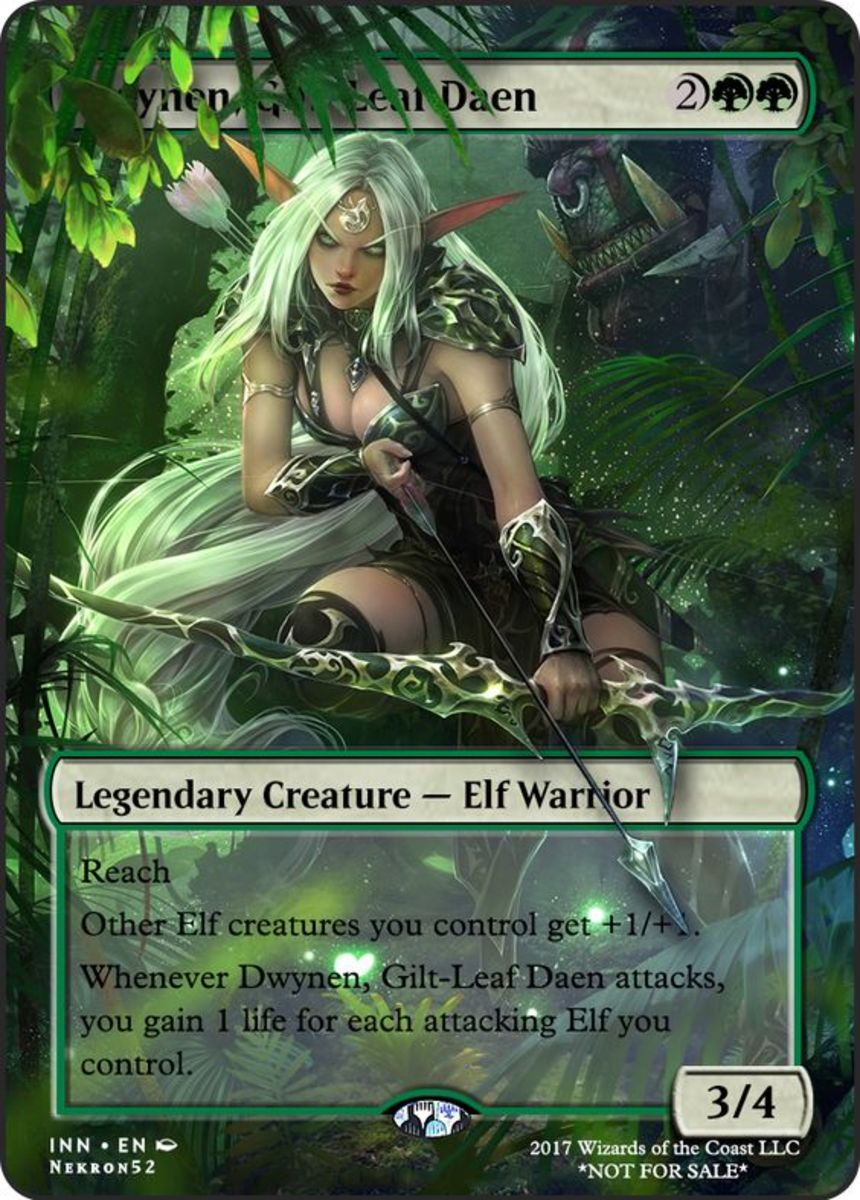 Top 6 Green Commanders in Magic: The Gathering