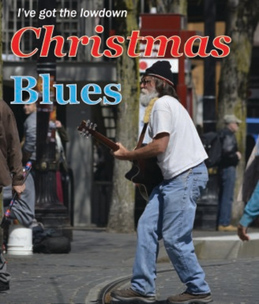 text added by the author - Blues Christmas Songs