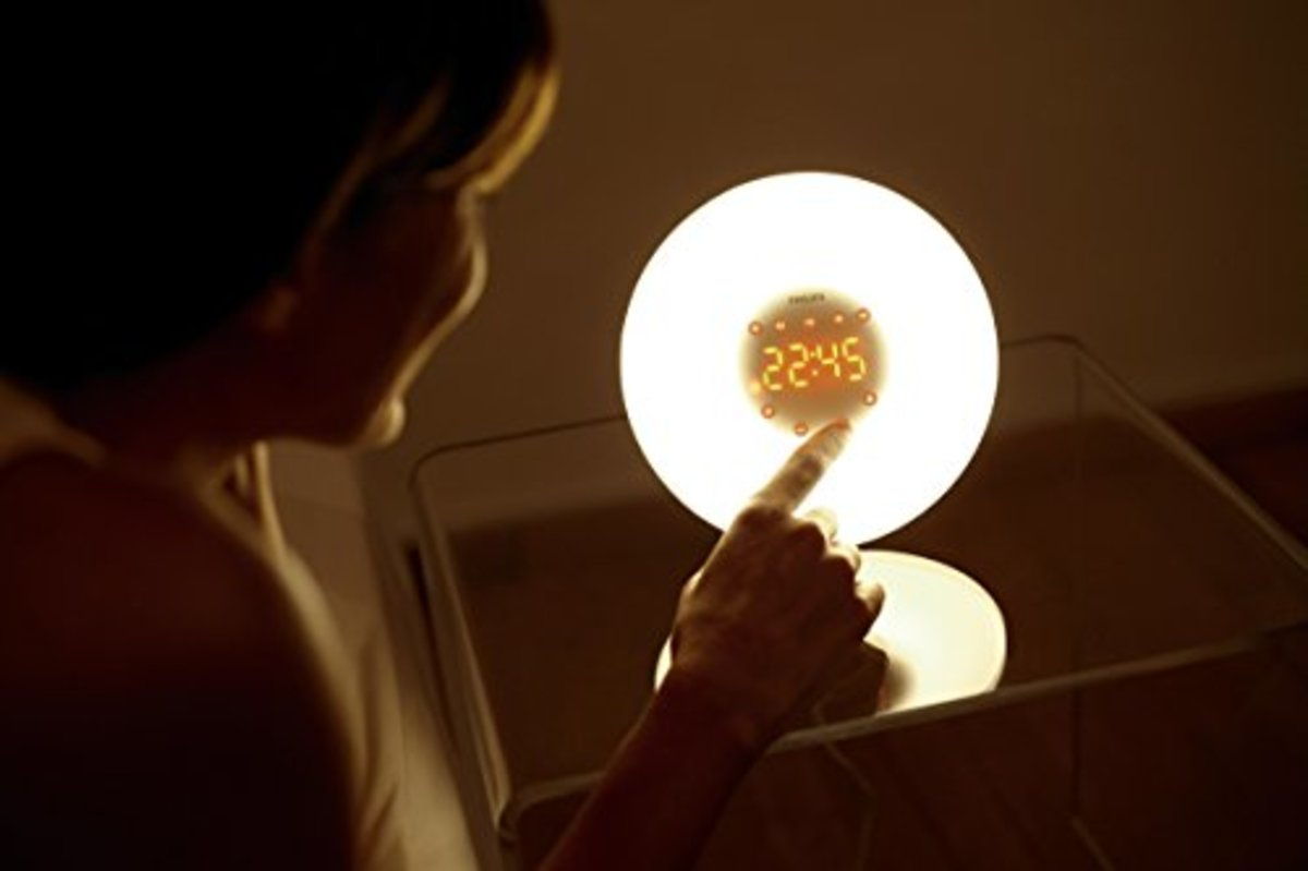 A Wake Up Light for Better Sleep