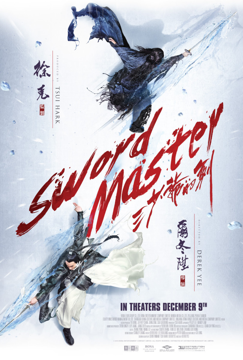 "The official US theatrical poster for Derek Yee's ""Sword Master."""