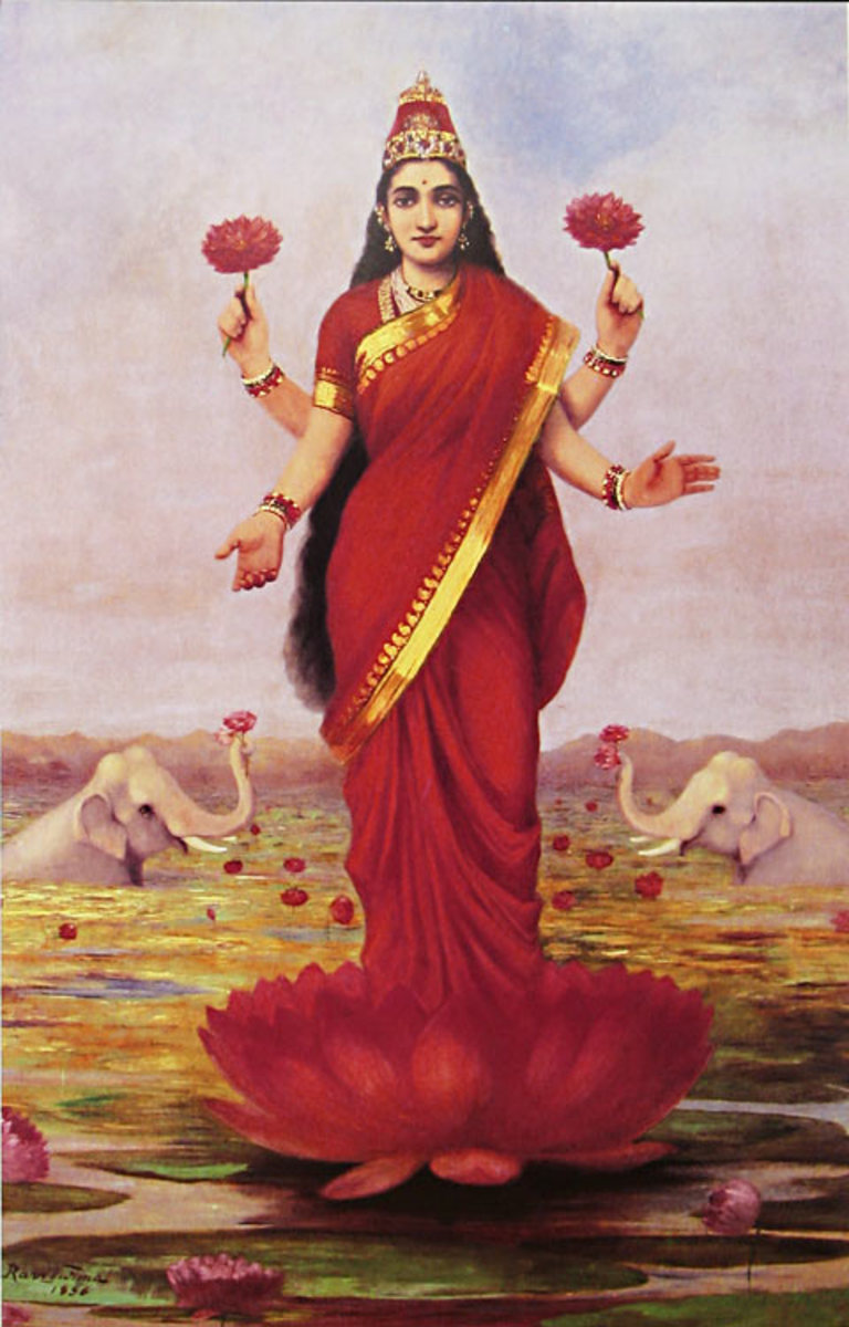 Hindu Mythology: Lakshmi and the Clever Washerwoman