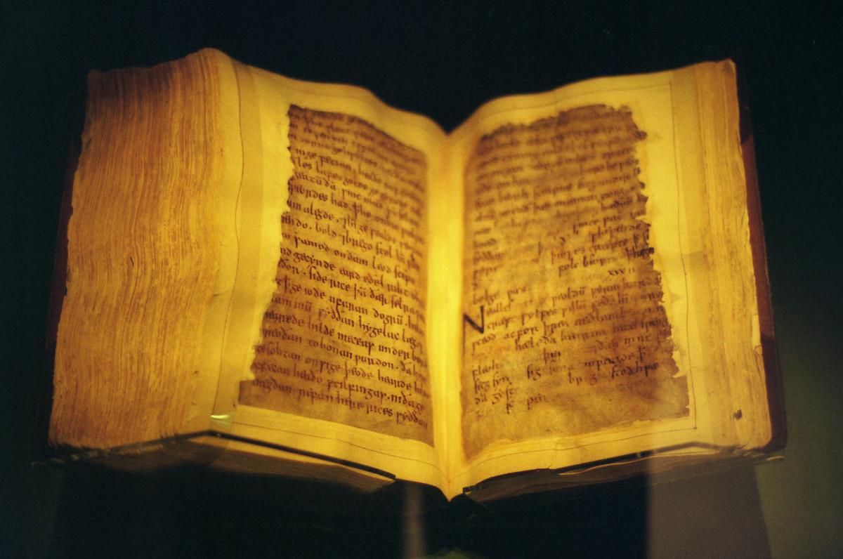 Beowulf Manuscript, c. 11th century