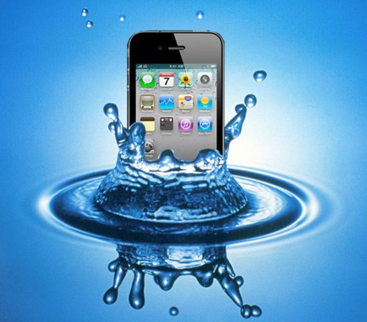 How to Save Your Water Soaked Cell Phone