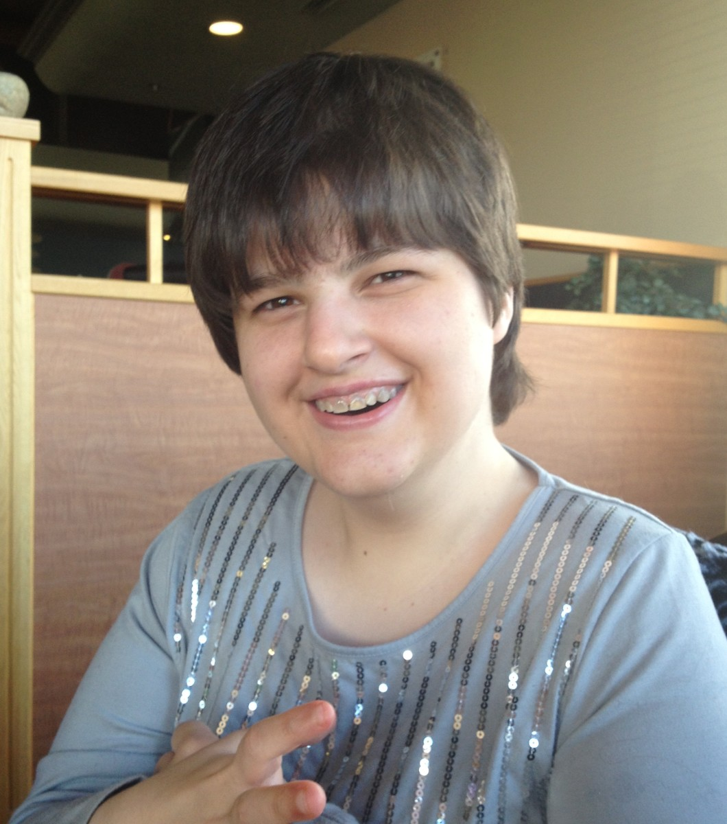 Brittany, has UPD Angelman Syndrome