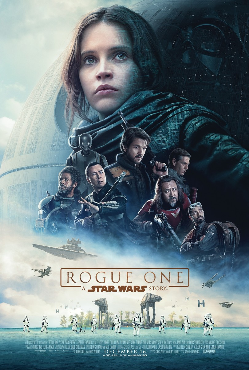 "One of many theatrical one-sheet posters for ""Rogue One: A Star Wars Story."""