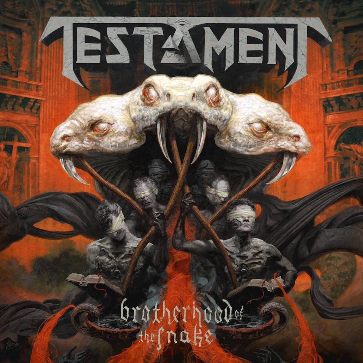 A Review of the Album Brotherhood of the Snake by Testament and the Return of Drummer Gene Hoglan