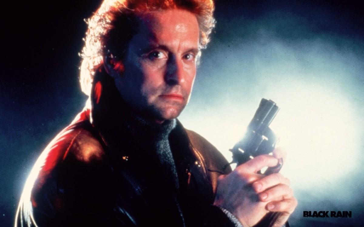 """Revenge & Noodles: """"Black Rain"""" (1989) Movie Review"""