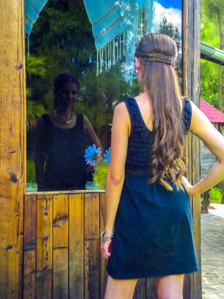 When you look at your reflection, what do you see?