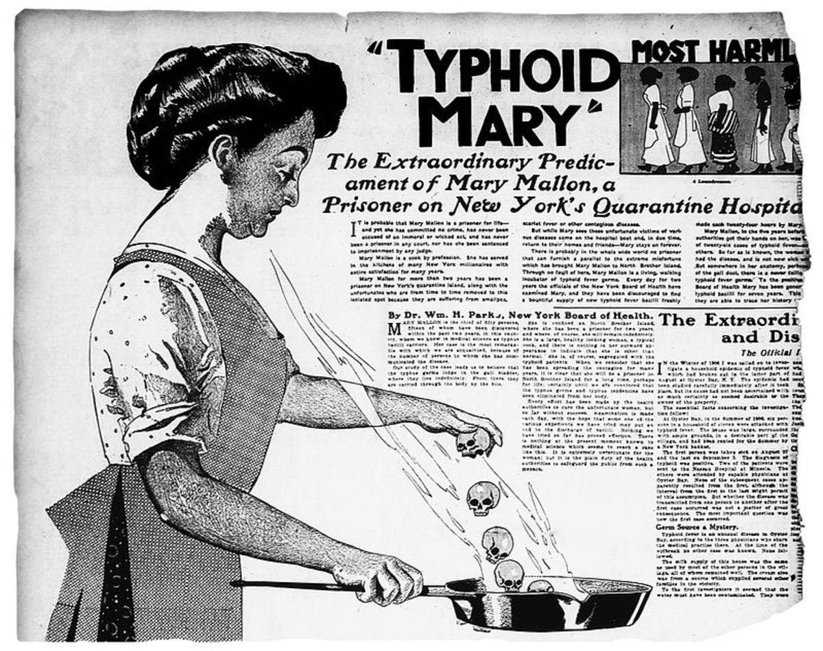 Typhoid Mary—the Asymptomatic Cook