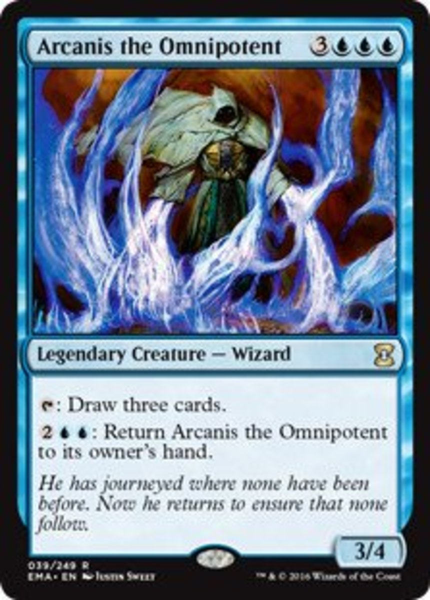 Top Seven Blue Commanders in Magic: The Gathering