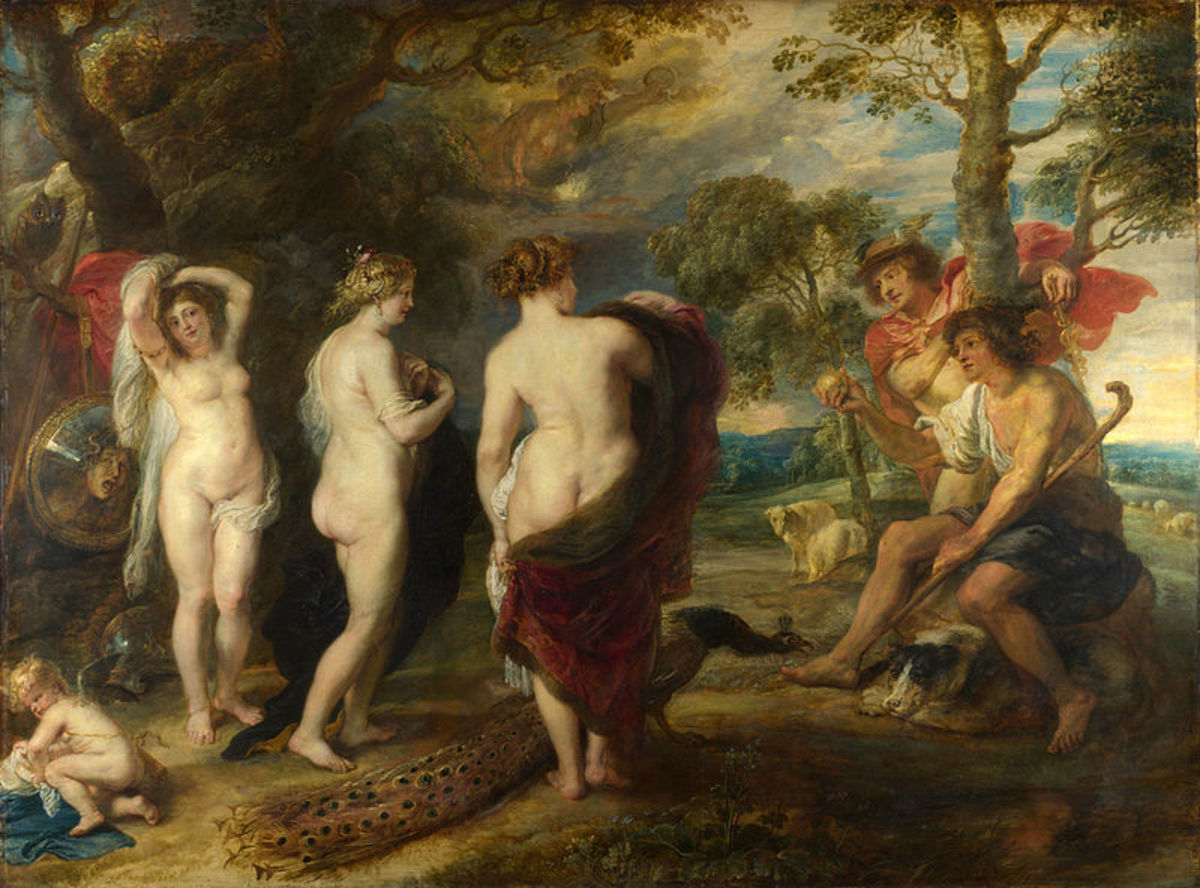 'The Judgement of Paris', Peter Paul Rubens, cc. 1632-35