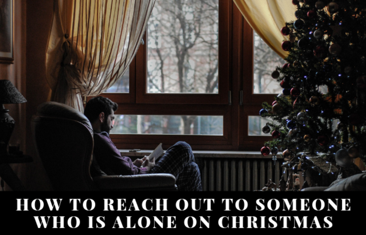 There are many ways we can reach out to someone who will be alone for the holidays.