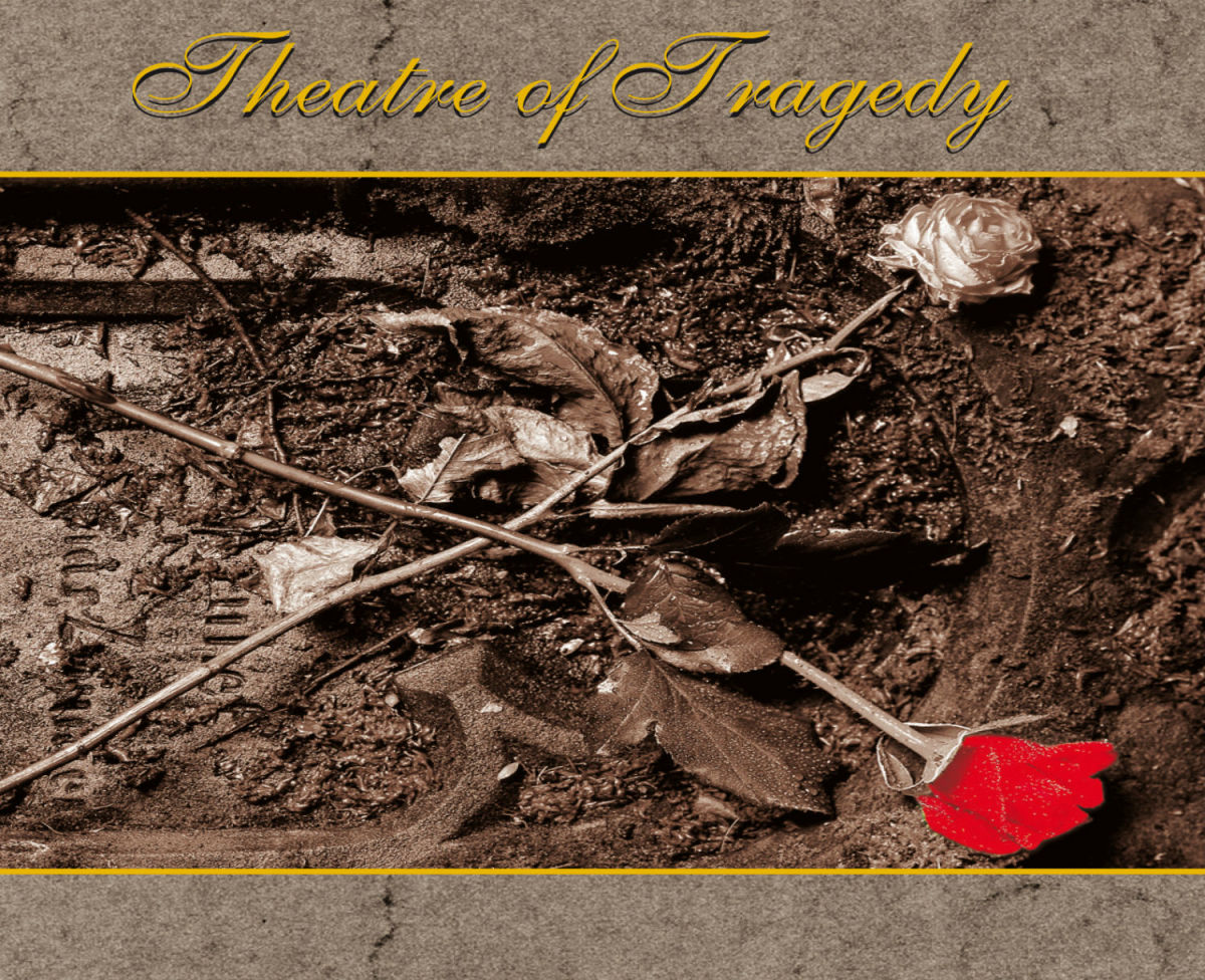 The album cover shows flowers that are starting to wither away in the soil just like how a type of play called a tragedy usually turns out. The band's music is very exciting though.