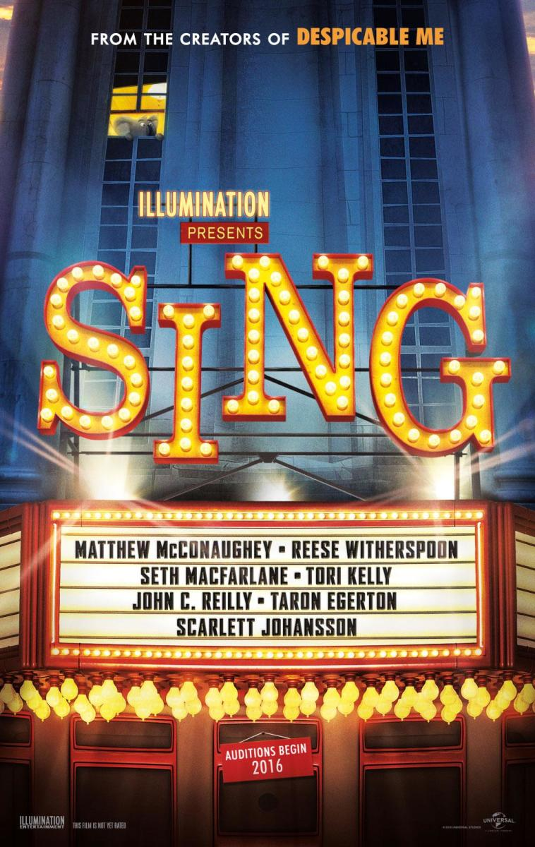 Sing: Movie Review